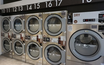 最新式の洗濯乾燥機