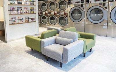 LaundryLush 寛ぎスペース